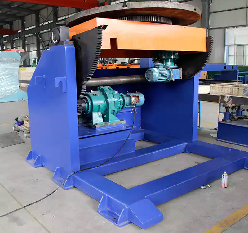 tube welding positioner