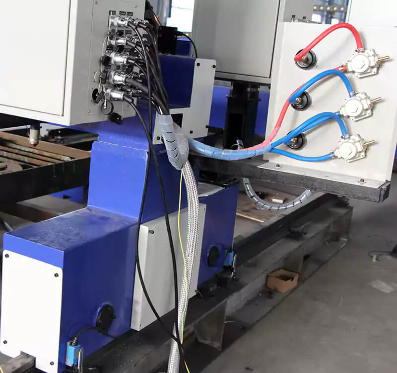 Gantry plasma oxy-fuel profile cutting machine detail