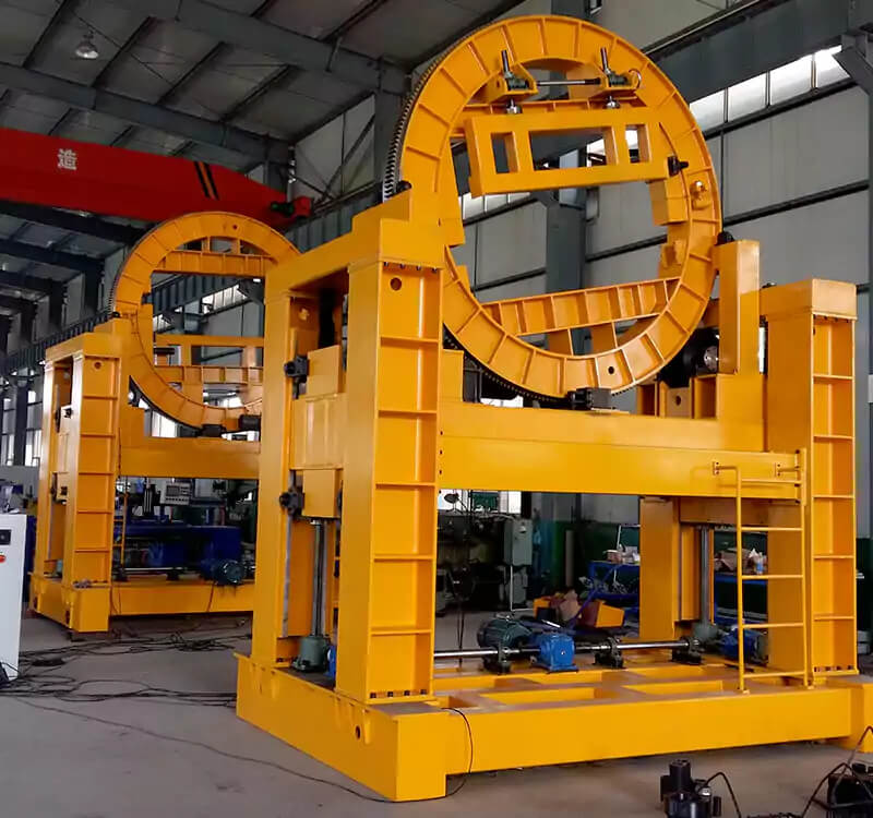 Ring type rotary welding positioner