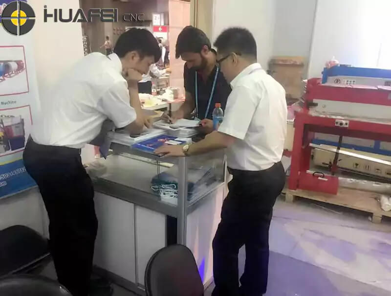 Jinan Huafei CNC Machine co., LTD. meet with you in Moscow to win the future